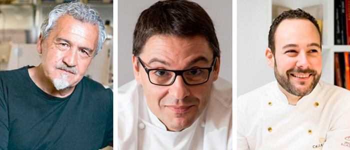 Paco Torreblanca, Oriol Balaguer y Josep Maria RIbé