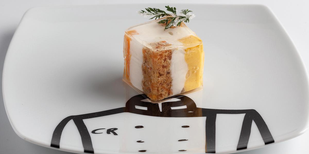 carrot cake cube