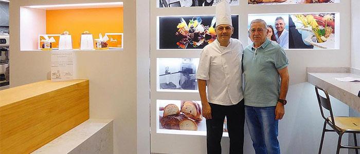 Salvador Pla con su padre