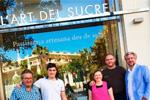 Entrega del premio a la pastelería Art del Sucre