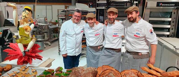 El equipo participante en la 20ª Copa de Europa de Panadería
