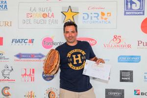 Alexis García, ganador de la Miga de Oro Canarias