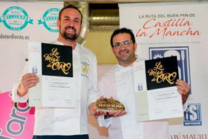 Jesús Sánchez y Miguel Ángel Sahuquillo, ganadores de la Miga de Oro de Castilla-La Mancha