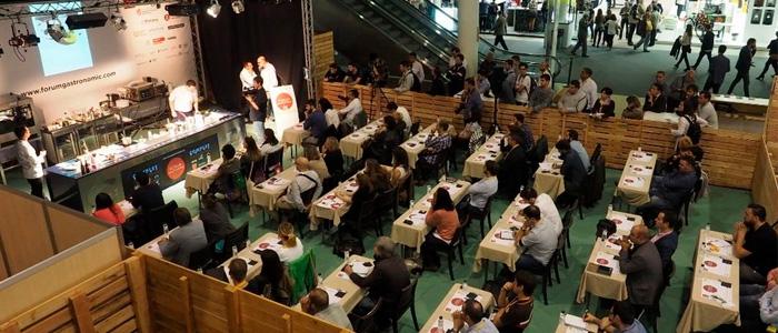 Ponencia durante la edición anterior del Forum Gastronomic de Barcelona
