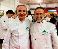 Yann Duytsche con Bruno Buletti