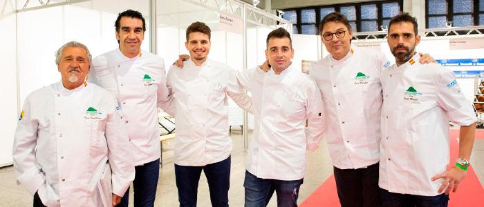 Paco Torreblanca, Jose Romero, Oriol Balaguer y Jordi Morelló en Lugano