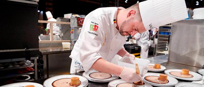 Participante belga en la anterior edición de la European Pastry Cup