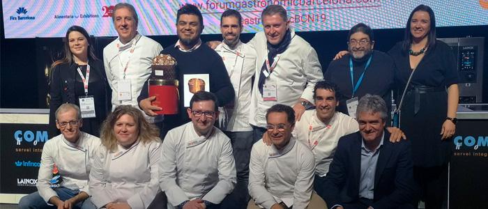 Jurado del Concurso al Mejor Panettone Artesano de España y el ganador Ton Cortés
