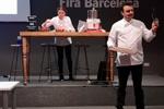 Olivier Fernández en la charla del haba a la tableta