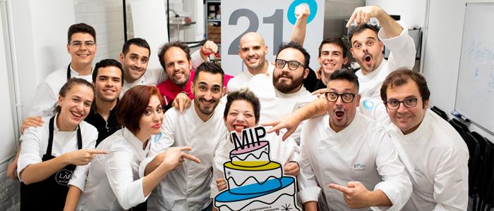 Colectivo brix21 con el reconocimiento de MIP