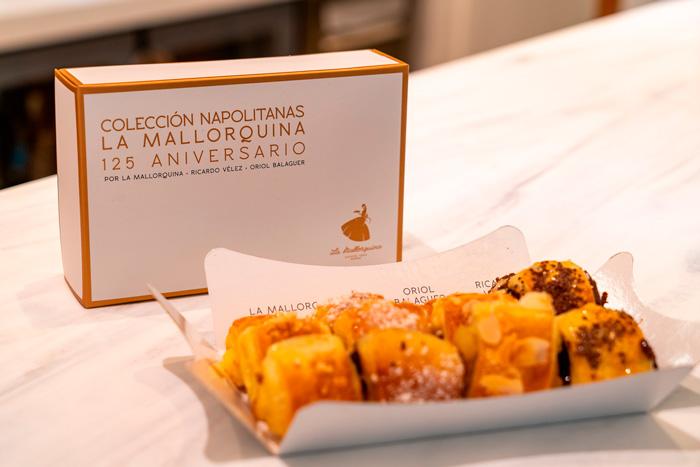 Paquete de las napolitanas creadas por Oriol Balaguer y Ricardo Vélez