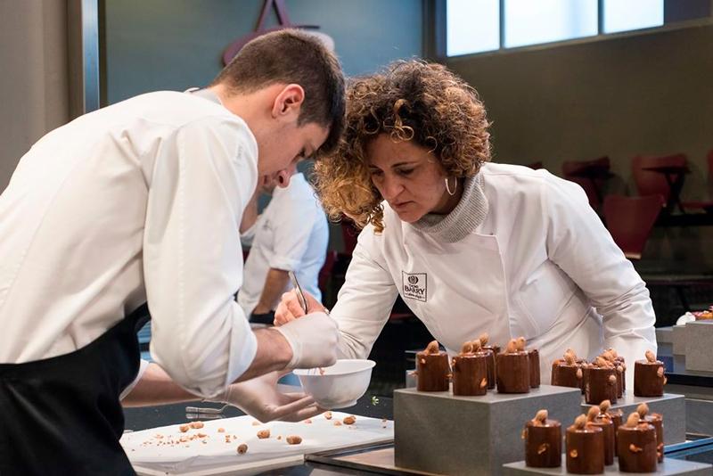 Clase en la Chocolate Academy