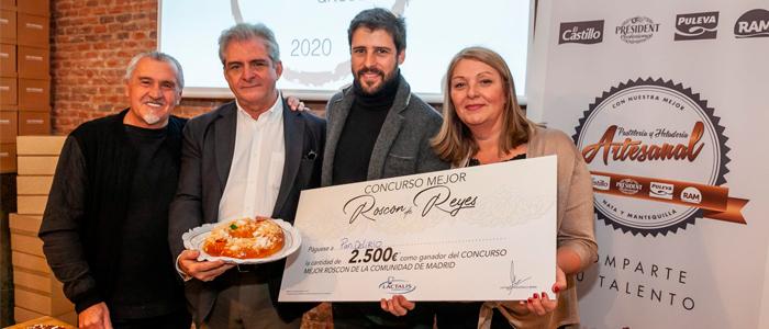 Entrega del premio al mejor roscón artesano de Madrid
