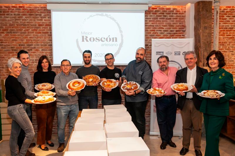 Participantes del concurso al mejor roscón artesano de Madrid