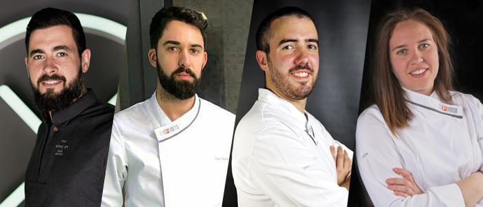 Raúl Bernal, Toni Pons, Alberto Barrero y Saray Ruiz