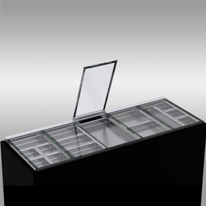 Eralux-tapas de vidrio que se elvan