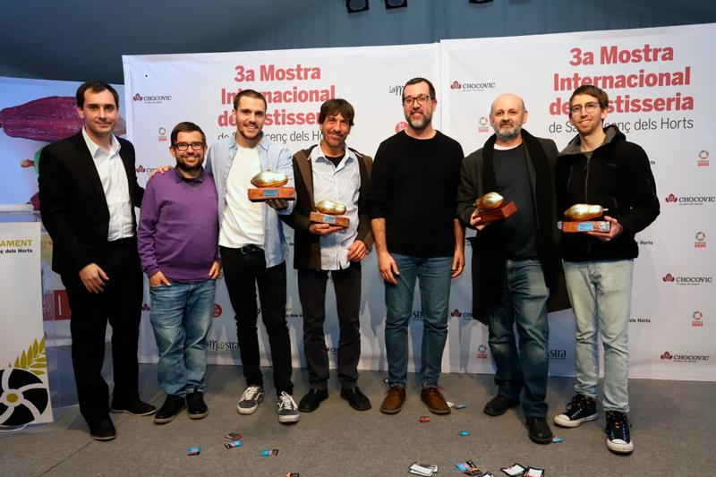 Ganadores de los cinco premios especiales