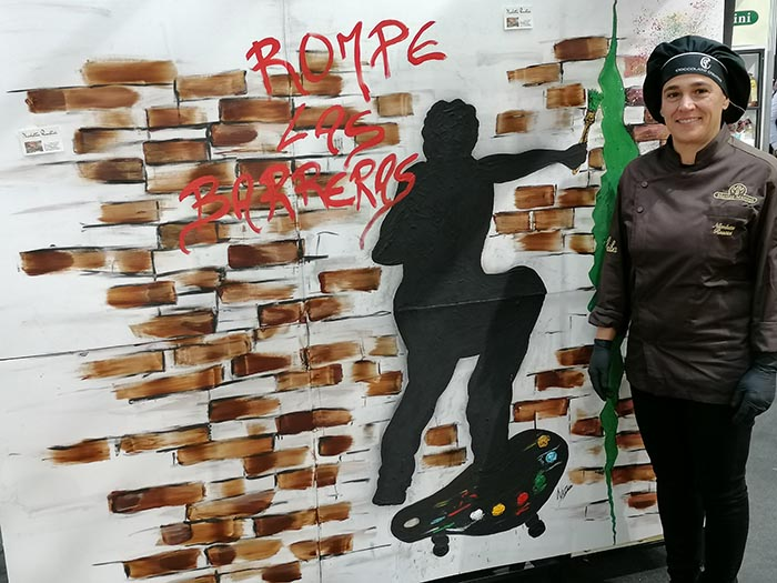 el mural de Nicoleta Rustici al completo