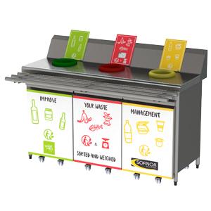 Sofinor-mueble de clasificación de residuos