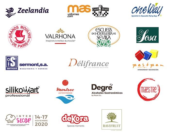Sponsors de la edición 2020 del Premio a la Mejor Pasta de Té de España