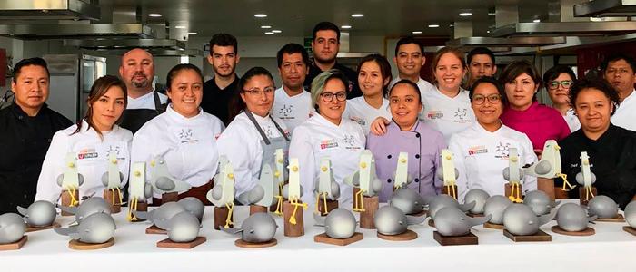Saray Ruiz en la edición anterior del Máster de Chocolate México