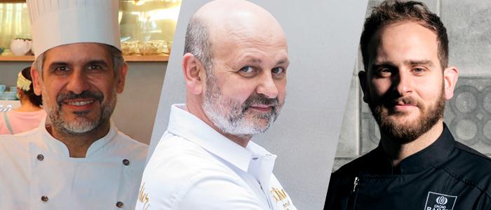Manu Jara, Eric Ortuño, Enric Monzonís