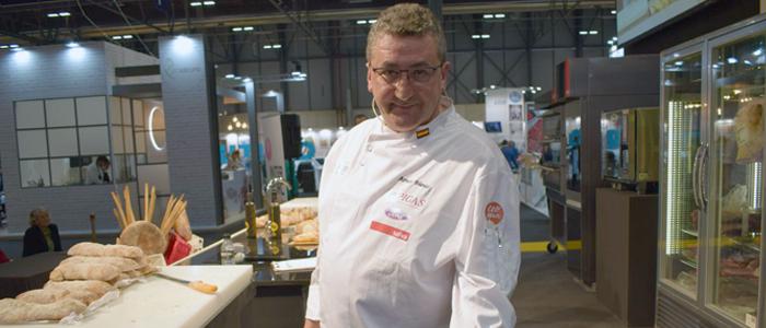 Arturo Blanco uno de los panaderos impulsores del Grado Medio