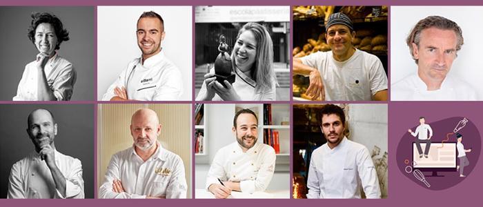 Algunos de los chefs participantes en las SweetHomeTalks