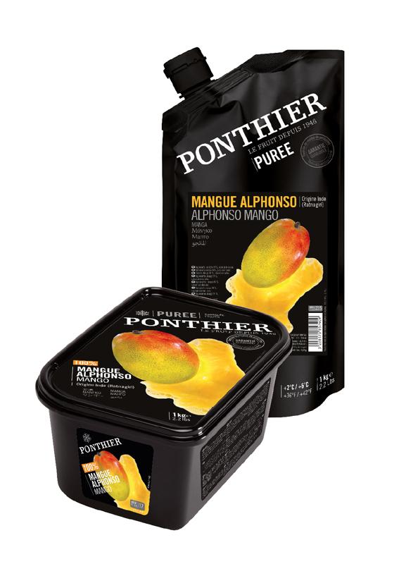 Puré de mango de la Maison Ponthier