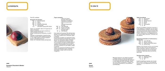 Muestra del interior del libro 197 pastas de té