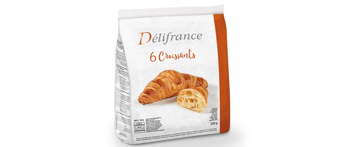 Paquete de croissants de Delifrance