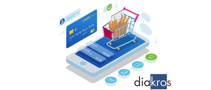 Infografía de la nueva app de Diakros
