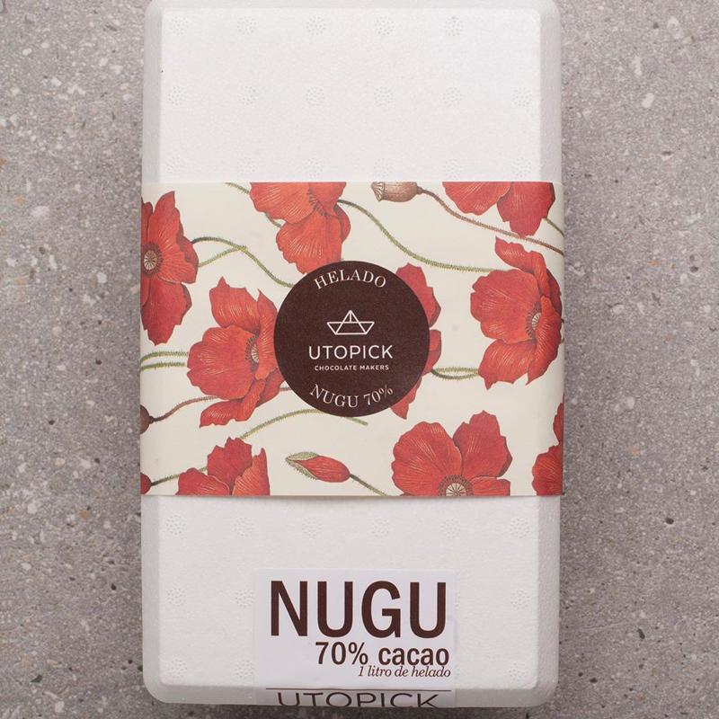 Envase del helado Nugu de Utopick