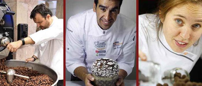Olivier Fernández, Jose Romero y Saray Ruiz