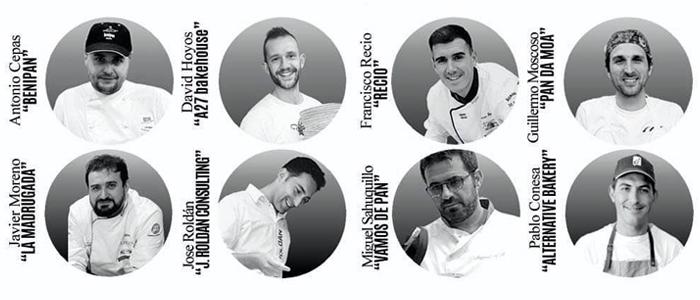 Algunos de los panaderos participantes en el webinar de Salva industrial