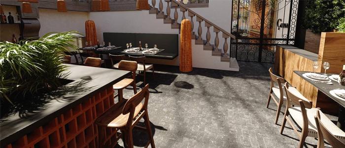 Restaurante exterior en Çuina de Xano Saguer