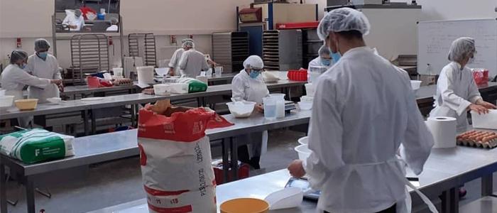 Alumnos de la Baking School Barcelona Sabadell