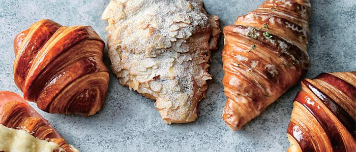 Croissants variados