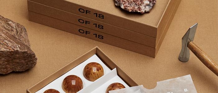 Packaging premiado de CF18 Chocolatier