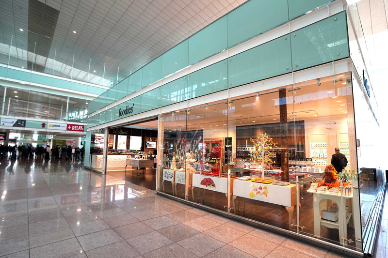 Local de Foodies en el aeropuerto de Barcelona
