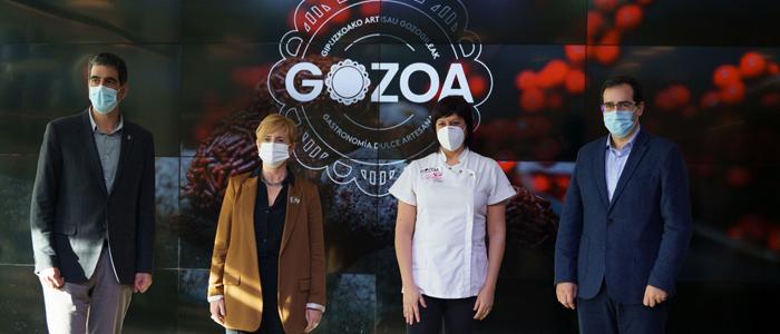 Presentación del sello de identidad de Gozoa