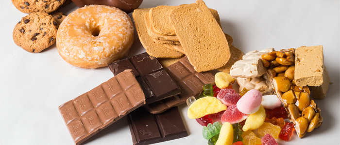 Surtido de dulces variados