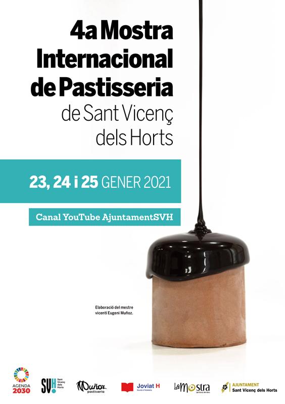 Cartel de la IV Mostra de Pastisseria de Sant Vicenç
