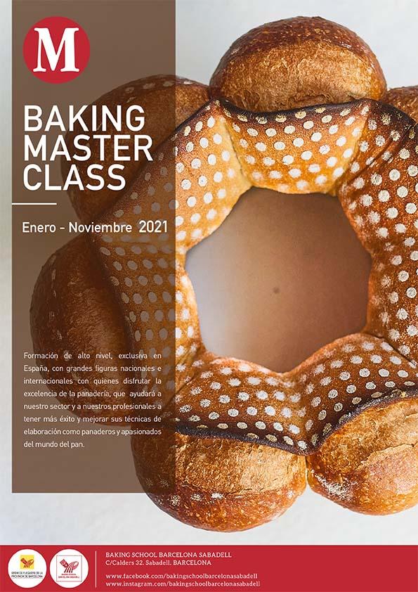 Catálogo de cursos de Baking School Barcelona, portada