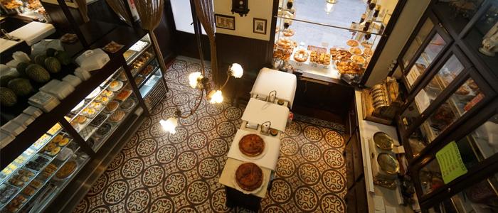 Vista cenital de la Antigua Pastelería El Pozo