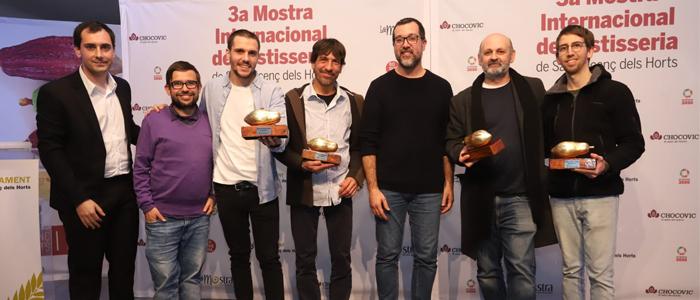 Ganadores de los premios especiales en la pasada edición de las Favas de Cacau