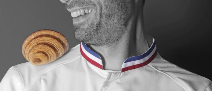 Detalle del croissant de Matthieu Atzenhoffer