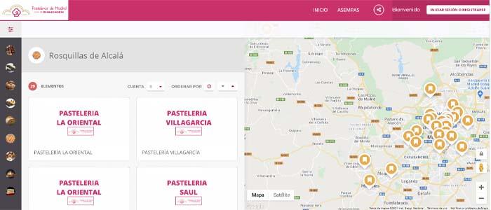 imagen de la herramienta online que sirve de guía en la página de Asempas