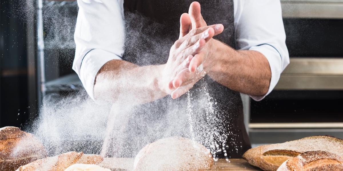 Enharinado de panes