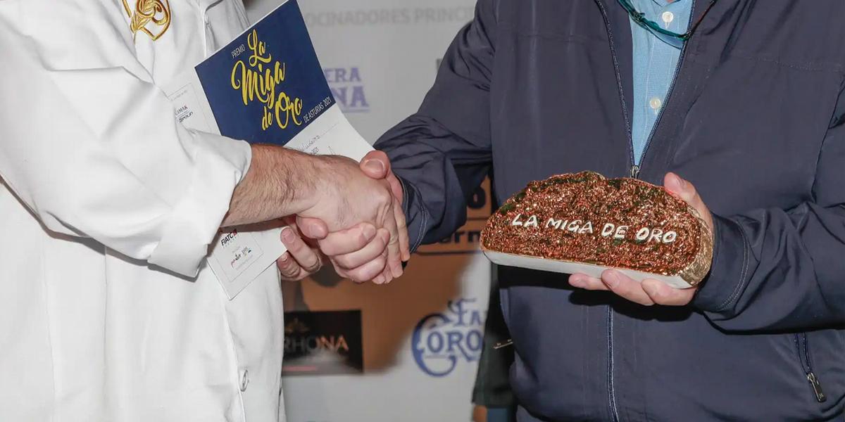 Ganador de la Miga de Oro Asturias